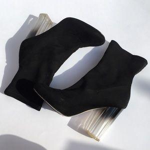 Boohoo sock boots